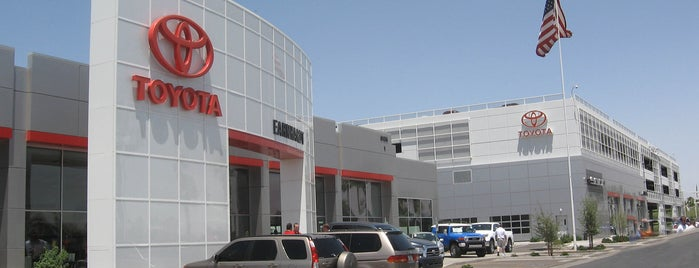 Earnhardt Toyota is one of Lugares favoritos de Tasia.