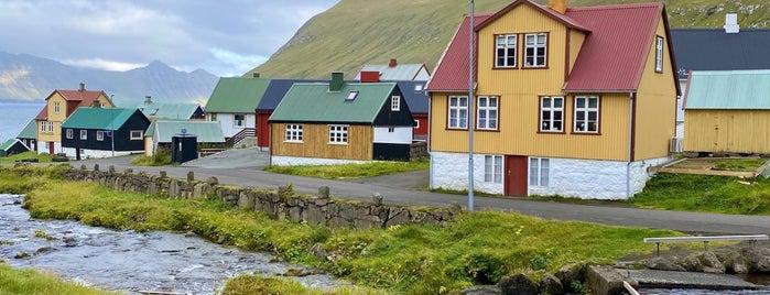 Gjógv is one of Faroe Islands.