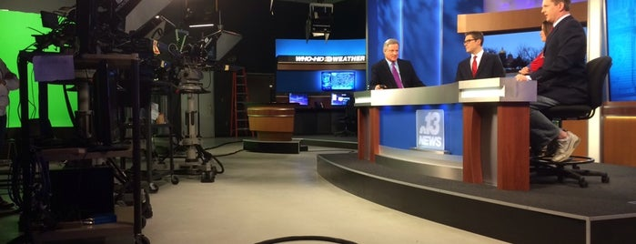 WHO-HD TV13 Studios is one of Evan[Bu] Des Moines Hot Spots!.