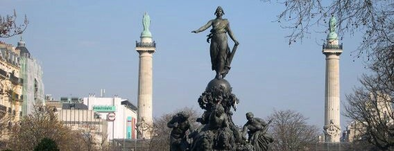 Place de la Nation is one of Paris - je t'aime.