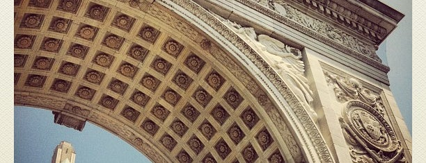 Washington Square Arch is one of NYC Essentials.