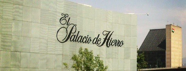El Palacio de Hierro is one of Mexico City.