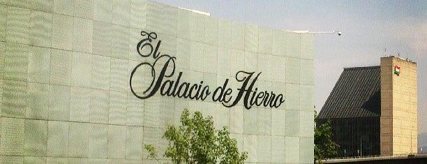 El Palacio de Hierro is one of Mexico City.