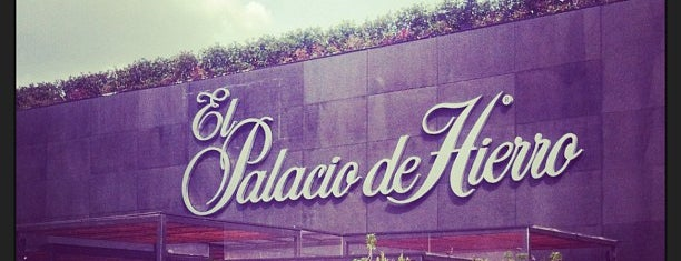 Palacio de Hierro is one of Locais curtidos por Sergio M. 🇲🇽🇧🇷🇱🇷.