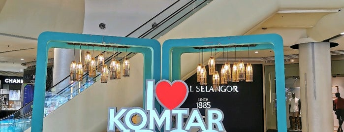 KOMTAR Johor Bahru City Centre (JBCC) is one of Amy's Liked Places.