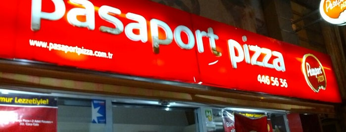 Pasaport Pizza is one of Elif 님이 좋아한 장소.