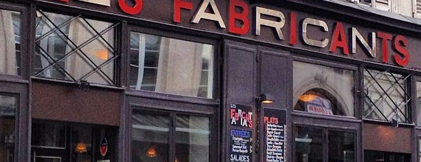 Les Fabricants is one of restos.