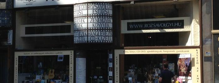 Rózsavölgyi Szalon - Arts & Cafe is one of Ma Este Színház!.