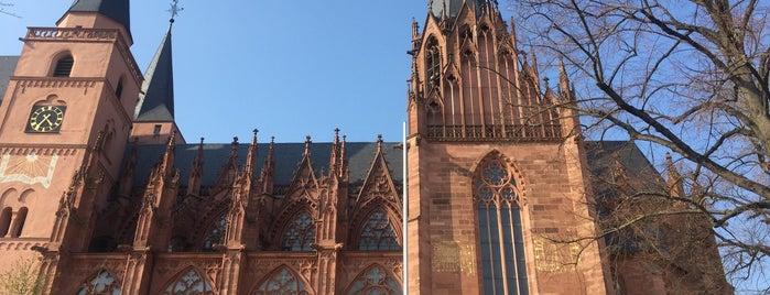 Katharinenkirche Oppenheim is one of Tempat yang Disukai Maike.