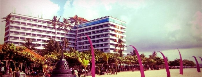 Grand Inna Bali Beach Hotel is one of DENPASAR - BALI.