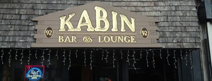 Kabin is one of Bars I've been to.