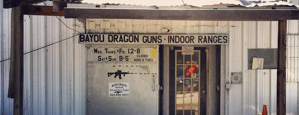 Bayou Dragon Shooting Ranges is one of New Orleans To-Do List.