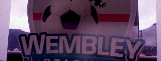 Wembley Stadium Futbol 5 is one of Dico'nun Beğendiği Mekanlar.