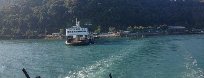 Ao Sapparot Pier is one of Thailand.