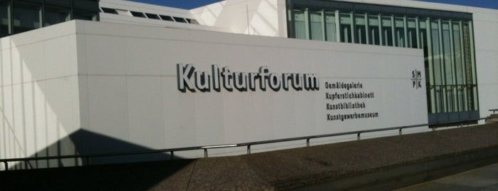 Kulturforum is one of Berlin 2019.