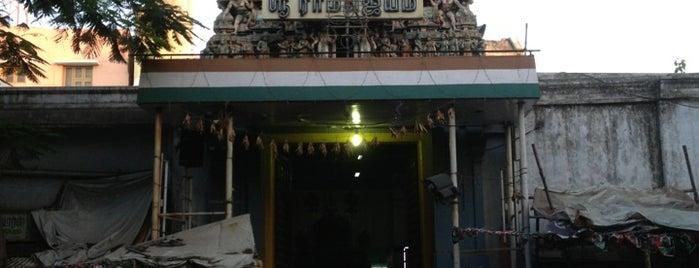 Anjaneyar Temple @ Royapettah High Rd is one of Lieux sauvegardés par Arthi.
