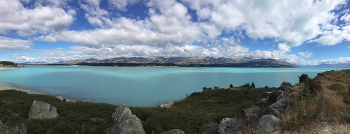 Lake Tekapo Regional Park is one of T.さんのお気に入りスポット.