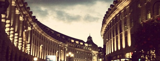 Regent Street is one of London tour.