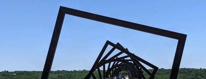 High Trestle Trail Bridge is one of if you're ever in ____.