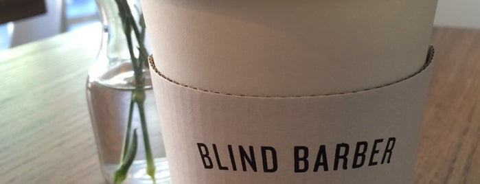 Blind Barber is one of Espresso - Brooklyn.