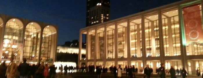 David Geffen Hall is one of Нью-Йорк.