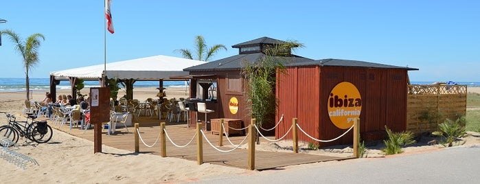 Chiringuito Ibiza Castelldefels is one of The Best Beach Tapas Bars in Barcelona.