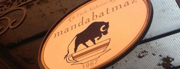 Mandabatmaz is one of İstanbul'da kahve molası...
