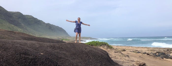 Ka'ena Point Natural Preserve is one of Oahu.