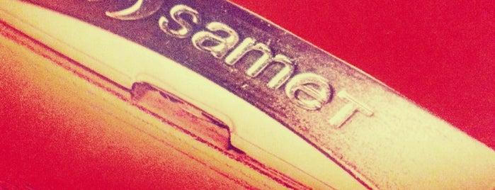 Samet is one of Lieux sauvegardés par Yeliz.
