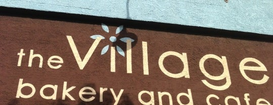 The Village Bakery & Cafe is one of KCRW.