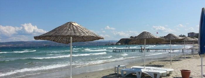 Hamzakoy Plajı is one of Locais curtidos por Bulent.
