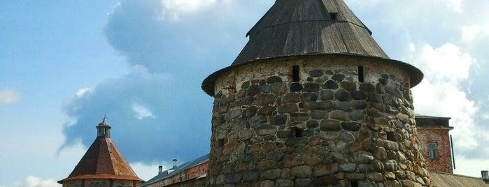 Спасо-Преображенский Соловецкий монастырь is one of UNESCO World Heritage Sites in Eastern Europe.