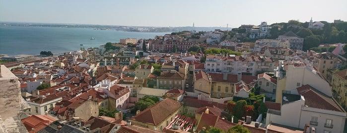 Miradouro do Castelo de São Jorge is one of Lisbon day.