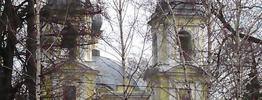 Троицкая Церковь is one of Tempat yang Disimpan Ilija.