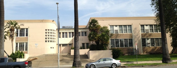 Hollywood High School is one of Los Angeles, CA.