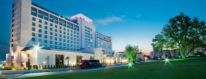 The Green Park Pendik Hotel & Convention Center is one of Tempat yang Disukai Gülşen Y..