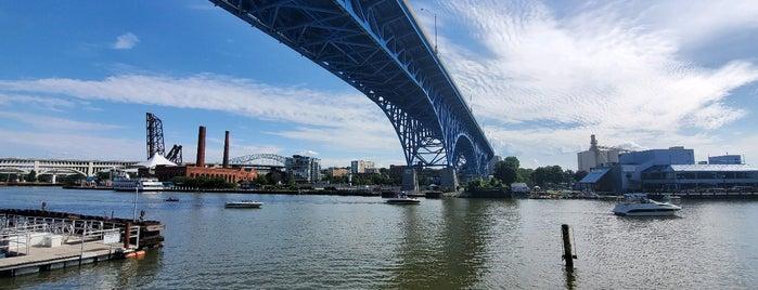 Downtown Cleveland is one of Orte, die John gefallen.