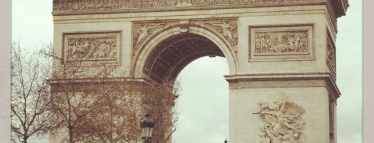 Arc de Triomphe de l'Étoile is one of 「带一本书去巴黎」.