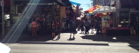 Santee Alley is one of Los Angeles.