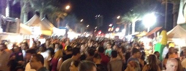 First Fridays Art Walk is one of Vegas.