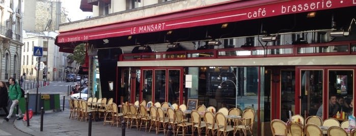 Le Mansart is one of Montmartre.