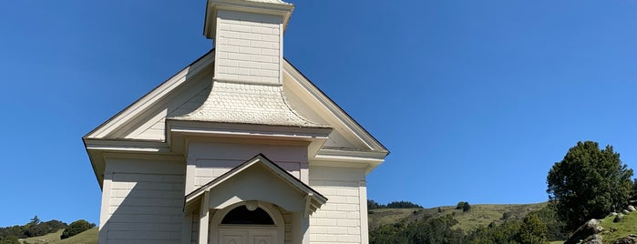 Old St. Mary's of Nicasio Valley is one of Aaron 님이 저장한 장소.