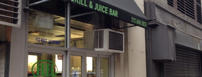 Fuel Grill and Juice Bar is one of Paleo NYC.