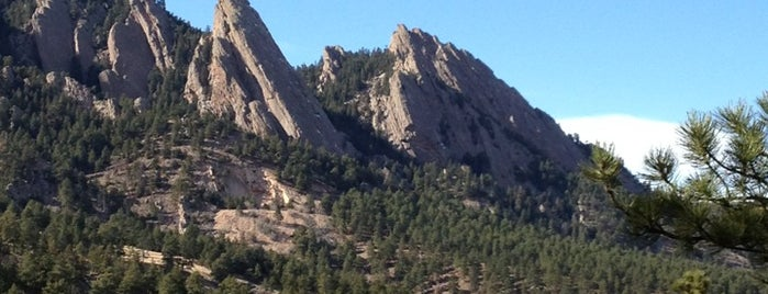 The Flatirons is one of Crazy Colorado.
