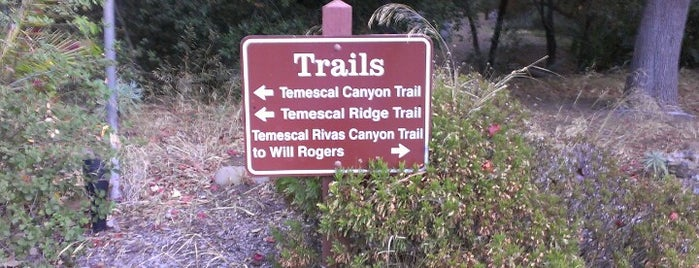 Temescal Gateway State Park is one of USA Los Angeles.