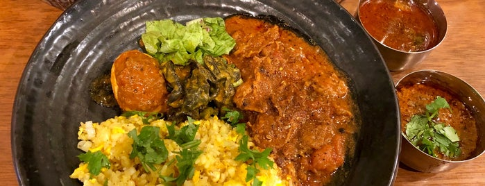 Spicy Curry Roka is one of TOKYO-TOYO-CURRY 4.