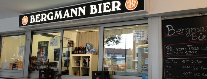 Bergmann Bier Kiosk is one of Orte, die Jan-Paul gefallen.