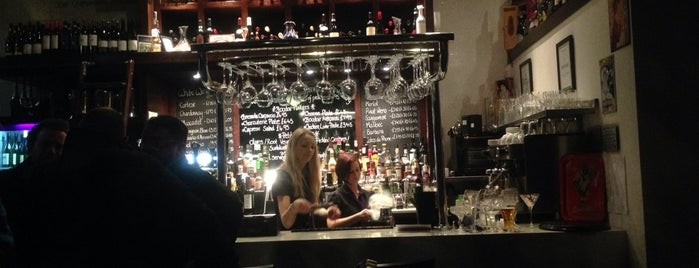 Boudoir Wine Bar is one of Glasgow.