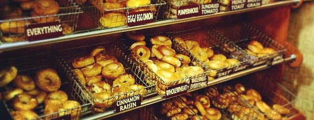 Dyker Park Hot Bagels is one of NYC // BKLYN Places to Eat.