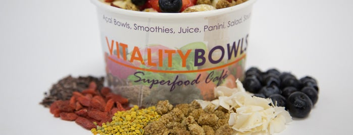 Vitality Bowls Dunwoody is one of Lugares favoritos de PJ.